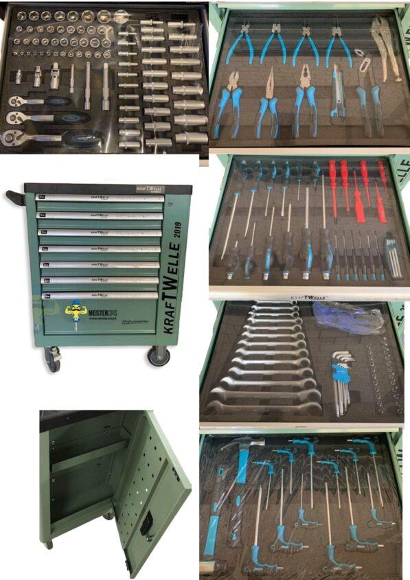 Werkstattwagen XXL komplett mit werkzeug 1
