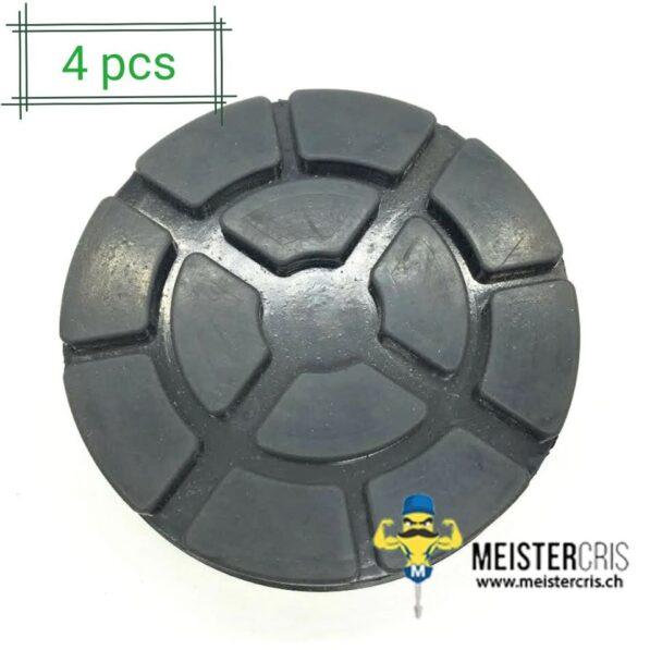 Gummiteller für Hebebühnen 100 mm (4 Stück) 1