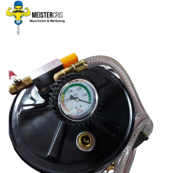 Ölablassgerät Ölablasswanne Ölauffangbehälter mit Druckluft 2